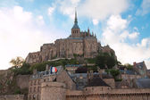 Abbey of Mont Saint-Michel. France — Stock Photo