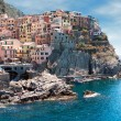 Italy. Cinque Terre region. Manarolvillage — Stock Photo #25799189