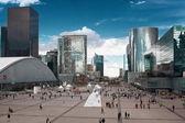High-rise modern building. Paris. Defense — Stock Photo
