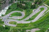 アルプスでの蛇紋岩。スイス — ストック写真