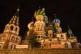 Chrám basil požehnaný moskva — Stock fotografie
