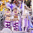 RIO DE JANEIRO - FEBRUARY 11: Performance of at carnival — Stock Photo