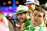 RIO DE JANEIRO - FEBRUARY 11: Spectators watch participants on c — Photo