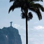 Sculpture Christ Redeemer in Rio de Janeiro, Brazil — Stock Photo #25830933