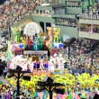 RIO DE JANEIRO - FEBRUARY 10: Show with decorations on carnival — Stock Photo #25831781