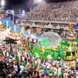 RIO DE JANEIRO - FEBRUARY 11: Show with decorations on carnival — Stockfoto