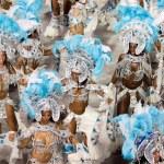 RIO DE JANEIRO - FEBRUARY 11: Performance of at carnival — Stock Photo #25833541