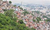 Favela in Rio de Janeiro — Stock Photo