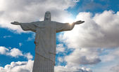 Statue of Christ Redeemer, Rio de Janeiro — Stock Photo