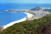 Copacabana Beach, Rio de Janeiro — Stock Photo