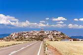 都市 berdun、アラゴン州スペイン — ストック写真