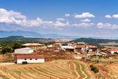 Village in Zaragoza Province, Aragon, Spain — Stock Photo