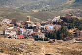 Village Tierga in Zaragoza Province, Aragon, Spain — Stock Photo