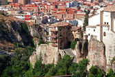 Houses hung (casas colgadas) in cuenca, Spain — Foto de Stock