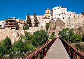 View of city of Cuenca, province Cuenca, Castilla-La Mancha, Spa — Stock Photo