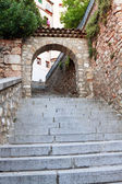 арка в городе куэнка, провинция куэнка, кастилья ла-манча, — Стоковое фото