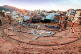 Roman amphitheater in Cartagena, Spain — Stock Photo