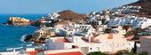 побережье средиземного моря, город сан-хосе, провинции альмерия, спина — Стоковое фото