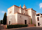 Church of Santa María Alhambra, Granada, Spain — Stockfoto
