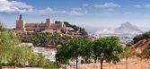 城堡要塞真正圣母德圣塔玛丽亚拉市长 antequer — 图库照片