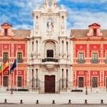 Palacio San Telmo. Seville, Spain. — Stock Photo #36485249