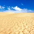 Dune Bolonia, province Cadiz, Andalucia, Spain — Stock Photo