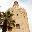 Stock Photo: Torre del Oro (Gold Tower). in Sevilla, Spain