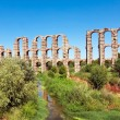 Aqueduct Los Milagros, Merida, Spain — Stock Photo