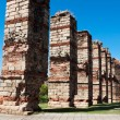Aqueduct ruins of Los Milagros, Merida, Spain — ストック写真