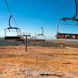 Cable car in Serra da Estrela, Portugal — Stock Photo