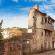 Old dilapidated building in Asturias. Spain — Stock Photo