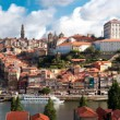 View of old town of Porto, Portugal — Stock Photo