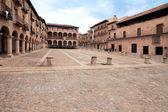 The courtyard bishops Castle Siguenza. Castillo de los Obispos d — Stock Photo
