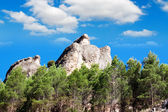 Cliffs near city of Cuenca, Spain — Stock Photo