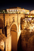 Old bridge in town of Ronda in Andalusia, Spain — Stock Photo
