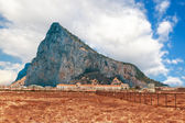The rock of Gibraltar — Stock Photo