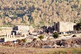 "Ruins Roman of ""Baelo Claudia"" in ""Bolonia"" beach, province Cad — Stock Photo"