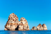 Coastal cliffs (Ponta da Piedade), Lagos, Portugal — Photo