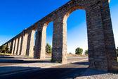 Aqueduct Amoreira Elvas, Portugal — Stock Photo