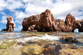 Coastal cliffs (Ponta da Piedade), Lagos, Portugal — Foto Stock