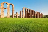 Aqueduct Los Milagros, Merida, Spain — Stock Photo