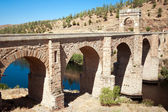 Alcantara Roman Bridge, Alcantara, Spain — Stock Photo