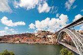 Anzeigen der alten stadt von porto, portugal — Stockfoto