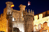 Templarium castle, Ponferrada, Santiago Road, Spain — Stock Photo