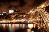 Bridge Dom Louis, Porto, Portugal — Stock Photo