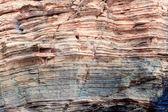 Textura de rocas en la playa de las catedrales, galicia, — Foto de Stock
