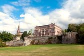 Palace Sobrellano, Comillas, Cantabria, Spain — Stock Photo