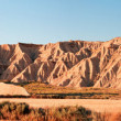 Mountain Castildetierra in Bardenas Reales Nature Park, Navarra, — Stock Photo