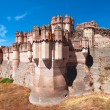 View of Coca Castle, province of Segovia, central Spain — Stock Photo #36491297