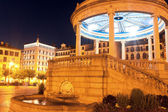 Gazebo on Square Castillo Pamplona, Navarra, Spain — Stock Photo